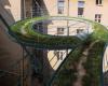 房产信息:ZalewskiArchitecture想象高层建筑之间缠绕着螺旋形人行道
