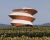 螺旋了望塔可以欣赏深圳的山川美景